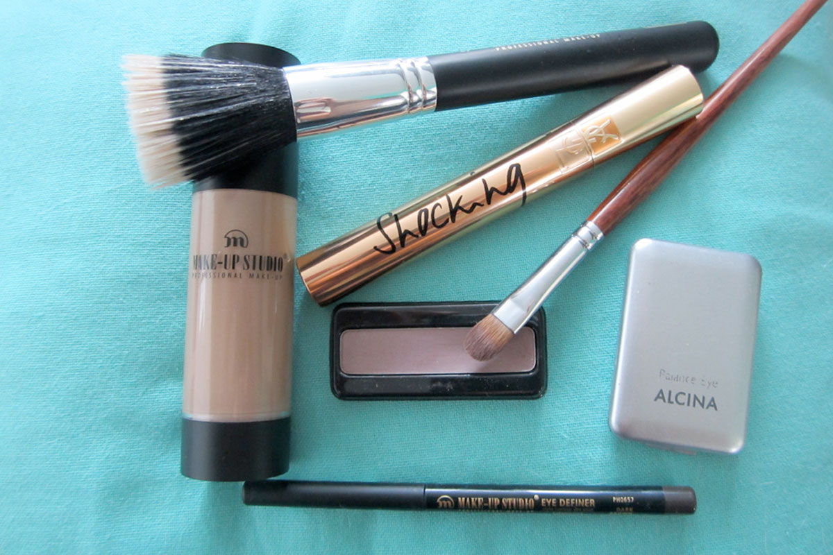 Tips voor make-up met slechts vijf make-up producten